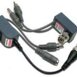 SET Video balun PASIV cu alimentare si audio UTP RJ45 - NOU - Adaptor