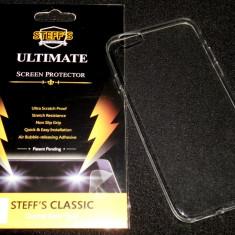 Cumpara ieftin Husa Protectie Silicon Gel Tpu Ultra Slim 0,3 mm Iphone 6 + Folie CADOU!!!
