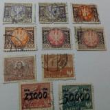 Polonia 18 valori 1922-24