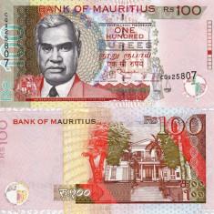 MAURITIUS 100 rupees 2012 UNC!!!