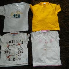 Set de patru tricouri pentru copii, ideale de joaca, marimea 6-7 ani, Culoare: Din imagine, Fete