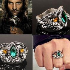 Inel LORD OF THE RINGS LOTR - Inelul Lui Aragorn - Marimi : 7, 8, 9, 10 - Inel fashion