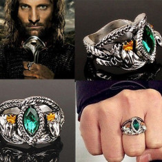Inel LORD OF THE RINGS LOTR - Inelul Lui Aragorn - Marimi : 7, 8, 9, 10 - Inel fashion