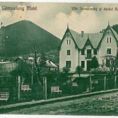 1633 - Suceava, CAMPULUNG MOLDOVENESC, vila Sorocovsky - old postcard - unused - Carte Postala Moldova 1904-1918