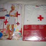 Costum de asistenta carnaval/petreceri,NOU