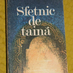 CC12 - SFETNIC DE TAINA - STEFAN POPESCU - EDITATA IN 1985 - Roman