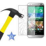 Protectie ecran Folie de sticla Tempered Glass pentru HTC ONE M7 + cablu date