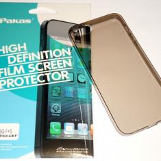 Cumpara ieftin Husa Protectie Ultra Slim 0,3 mm Iphone 5 / 5S + Folie CADOU !!!