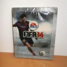 Steelbook FIFA 14 ( G2 size ) + magnet lenticular Messi , de colectie