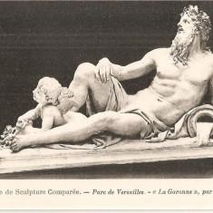 CPI (B5186) MUZEUL DE SCULPTURA COMPARATA - PARCUL VERSAILLES, COYSEVOX - LA GARONNE, ARTA,, Necirculata, Fotografie