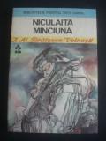 I. AL. BRATESCU VOINESTI - NICULAITA MINCIUNA * BIBLIOTECA PENTRU TOTI COPIII