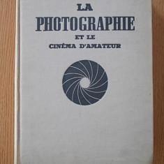 LA PHOTOGRAPHIE ET LE CINEMA D, AMATEUR- JEAN ROUBIER- DESSINS DE BEUVILLE- FOTOGRAFIE SI CINEMA PENTRU AMATORI- CARTONATA- 1956 - Carte Fotografie