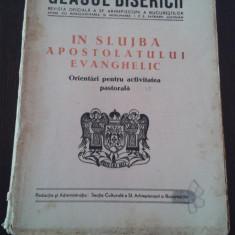 GLASUL BISERICII * IN SLUJBA APOSTOLATULUI EVANGHELIC -1949, Anul VIII nr. 1-2