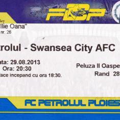 Bilet meci fotbal PETROLUL PLOIESTI - SWANSEA CITY AFC