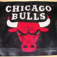 CHICAGO BULLS - Made in U.S.A. / Steag Fan BASKETBALL - CALITATE - Steag fotbal