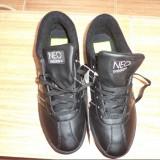 Adidas Neo - Adidasi dama, Culoare: Negru, Marime: 37, Piele naturala