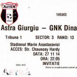 Bilet meci fotbal  ASTRA GIURGIU - DINAMO ZAGREB 27.11.2014