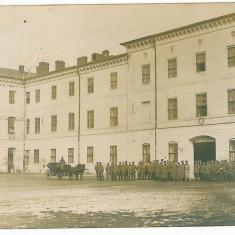 2342 - BUCURESTI, Cazarma militara - old postcard, CENSOR - used - 1918