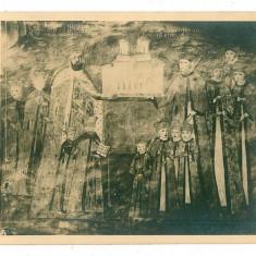 2429 - Valcea, Monastery HOREZU - old postcard, real PHOTO - unused - Carte Postala Oltenia 1904-1918, Necirculata, Fotografie