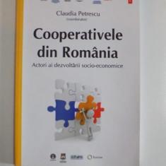 COOPERATIVELE DIN ROMANIA ACTORI AI DEZVOLTARII SOCIO-ECONOMICE de CLAUDIA PETRESCU 2013 - Carte Marketing