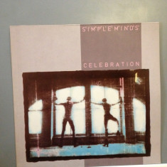 SIMPLE MINDS - CELEBRATION (1982 / VIRGIN REC /RFG ) - DISC VINIL/PICK-UP/VINYL - Muzica Rock virgin records