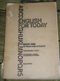 MCC2 - ENGLISH FOR TODAY