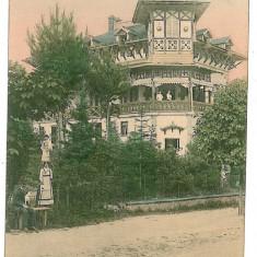 2415 - Valcea, GOVORA, vila Beresteanu - old postcard - unused - Carte Postala Oltenia 1904-1918, Necirculata, Printata