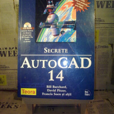 Bill Burchard - Secrete Autocad 14 (fara cd)