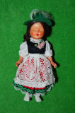 Cumpara ieftin Papusa /papusica etno, costum traditional austriac (tirolez, german), 18cm