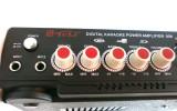 AMPLIFICATOR Mixer Radio FM,KARAOKE, CU MP3 PLAYER si doua porturi microfon
