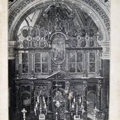 Beius, Belenyes - Biserica Reformata Interior - Piesa de colectie ! - Carte Postala Transilvania 1904-1918, Necirculata