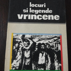 LOCURI SI LEGENDE VRANCENE -- Simion Harnea -- 1979, 197 p. - Carte de calatorie