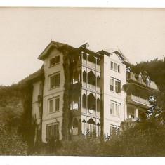 2408 - Valcea, CALIMANESTI, Hotel Jantea - old postcard, real PHOTO - unused - Carte Postala Oltenia 1904-1918, Necirculata, Fotografie