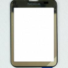 Touchscreen Nokia C3-01 Touch and Type Gold original - Touchscreen telefon mobil