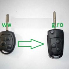 Carcasa Cheie Briceag Ford 3 Butoane Transformat ( Lamela TIP CUI) Ford Mondeo