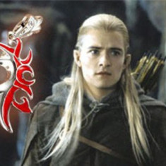 Pandantiv / Colier / Lantisor / Medalion - Film LORD OF THE RINGS  -  LEGOLAS