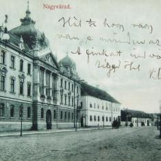 Oradea, Nagyvarad, Bihor - Strada Rakoczi 1909 - Piesa de colectie ! - Carte Postala Transilvania 1904-1918, Circulata