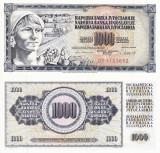 IUGOSLAVIA 1.000 dinara 1981 UNC!!!