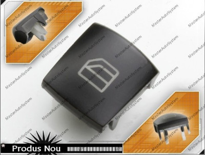 Buton (capac buton) geam consola sofer Mercedes A Class W169 dreapta spate foto