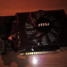 Placa video MSI NVIDIA GeForce GT 630, 1024MB, DDR3, 128bit, HDMI, DVI, VGA - Placa video PC Msi, PCI Express, 1 GB