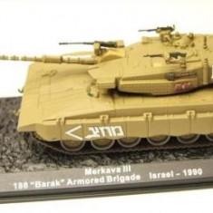 Macheta tanc Merkava III - Israel - 1990 scara 1:72 - Macheta auto