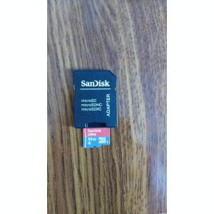 CARD MICROSD 32GB SANDISK ORIGINALE  CLASA 10 + ADAPTOR CADOU