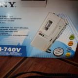 Repotofon Sony ! Model M-740V ! Nou ! Desfacut numai ptr poze ! Caseta si baterii sigilate !