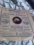 Placa  gramofon , stare perfecta, reclama Socec Bucuresti,PROMOTIE!