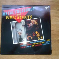 Various - Metal Treasures And Vinyl Heavies (1984, ACTION, REPLAY, Made in UK) - Compilatie: METALLICA, ACCEPT, JUDAS PRIEST MSG etc - Muzica Rock, VINIL