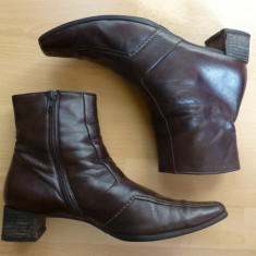 Botine Paul Green piele naturala Made in Austria, Davos Gomma, Thermo-Insole; 38 - Botine dama, Culoare: Din imagine