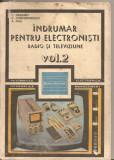 (C5624) INDRUMAR PENTRU ELECTRONISTI DE C. GAZDARU, VOL.2, RADIO SI TELEVIZIUNE, EDITURA TEHNICA, 1987, Alta editura