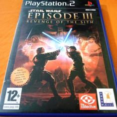 Star Wars Episode III The Revenge of the Sith PS2, original, alte sute de jocuri - Jocuri PS2 Altele, Actiune, 12+, Single player