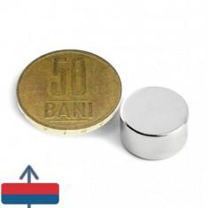 Magnet neodim 15/8 mm puternic cu aprox 7 kg forta atractie
