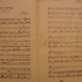 Partitura muzicala, Chez Capsa